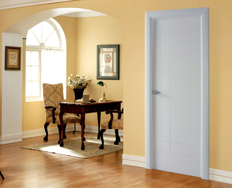 Puertas y suelo ii interiores3de - Decoracion puertas blancas ...