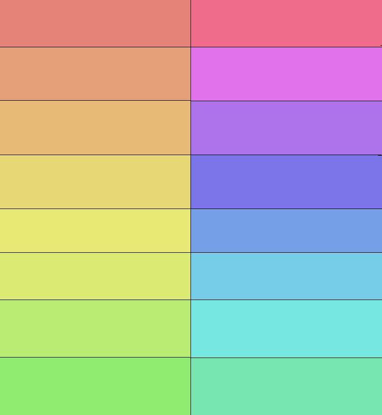 Gamas de colores interiores3de - Gama de colores calidos ...