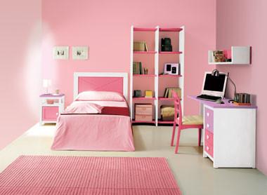 Rosa gama suave interiores3de for Cuarto lleno de rosas