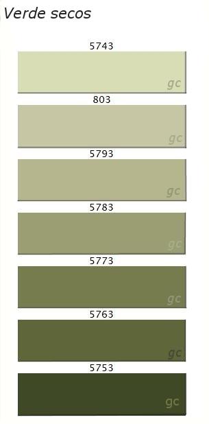 Verdes interiores3de p gina 2 - Gama de colores verdes ...