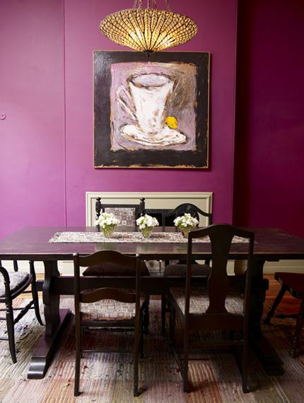 Sala comedor interiores3de for Colores para living comedor