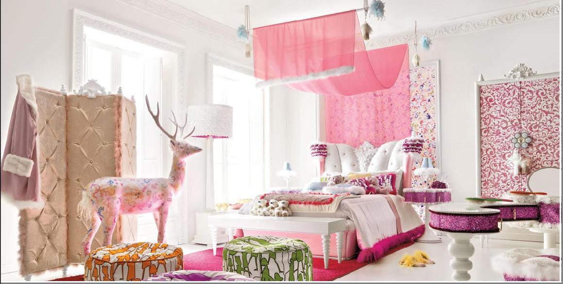 Dormitorios con encanto para chicas interiores3de - Habitaciones juveniles con encanto ...