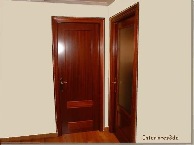 Puertas interiores3de for De que color puedo pintar los marcos de las puertas