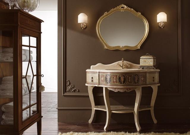 Ba o color chocolate interiores3de - Bano de color chocolate ...